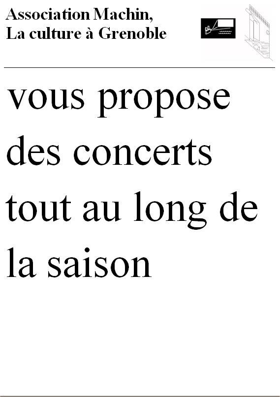 Billeteries concerts